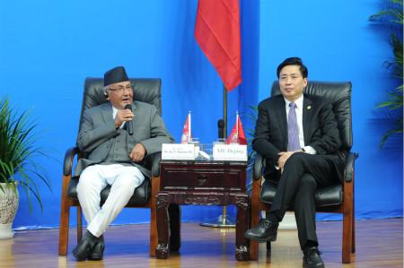 PM OLI with the President of Sichuan University
