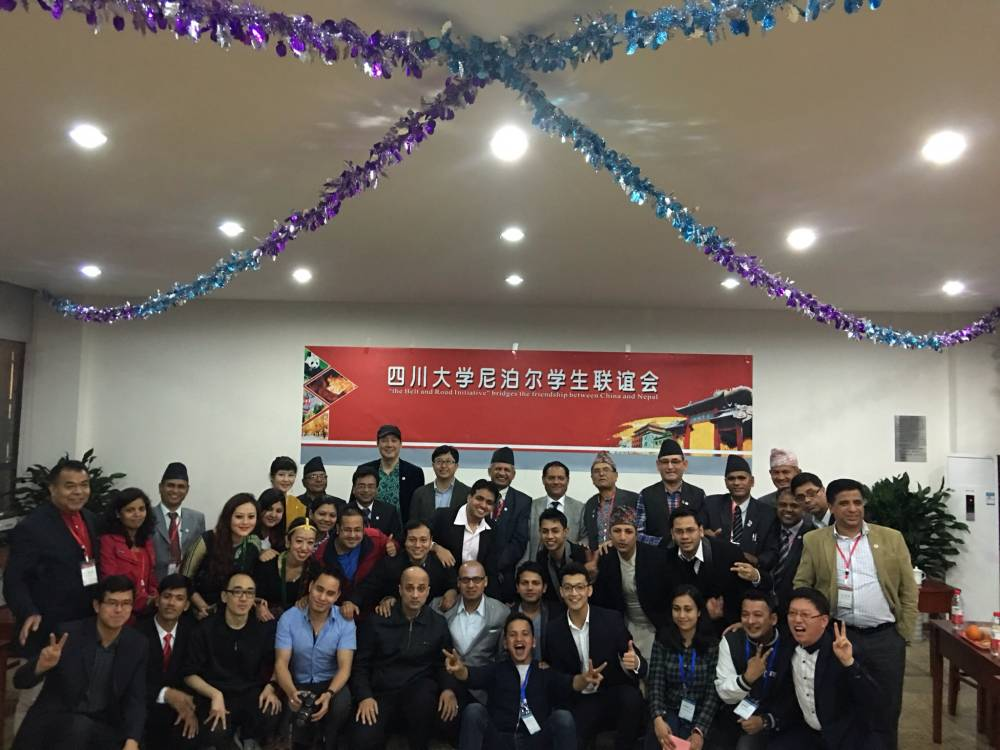 Hon. Mr Pradeep Gyawali (At present he is the Foreign Minister of Nepal ) during a training program at Sichuan University in 2016.
